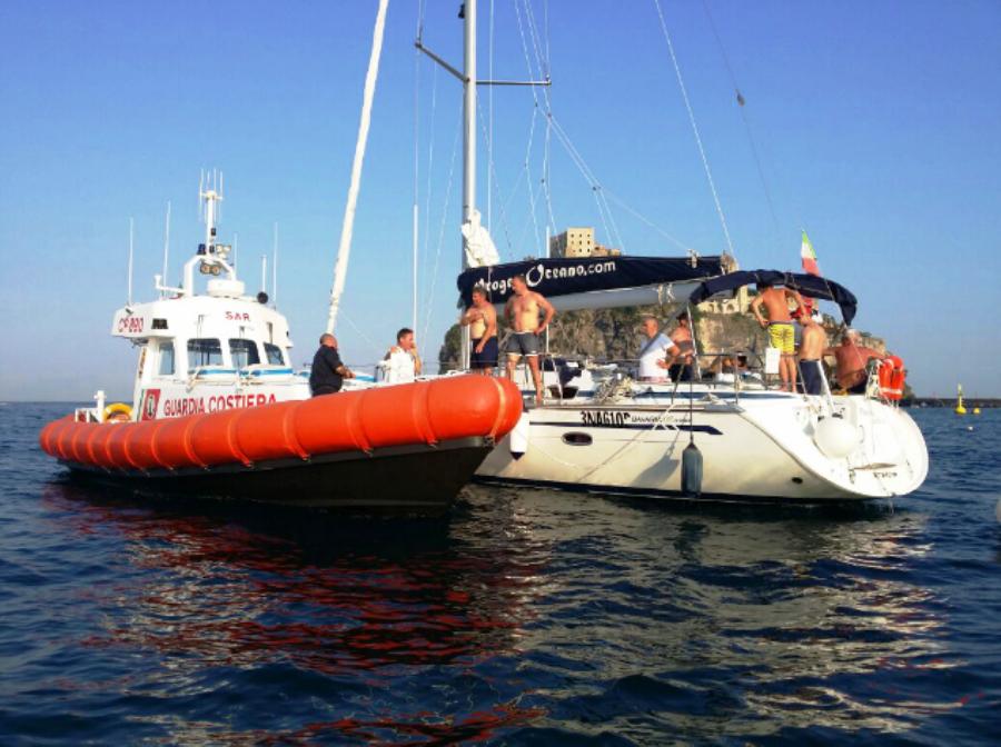 Ischia mondo blog la guardia costiera di ischia per un for La piattaforma del secondo piano progetta le immagini