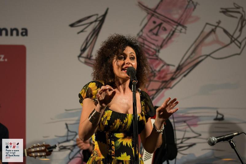 La cantante Fiorenza Calogero