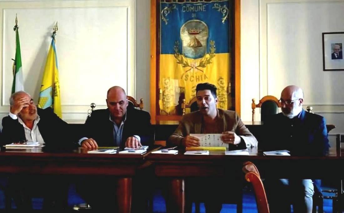 CONFERENZA STAMPA AL COMUNE CON GIORGIO BRANDI,