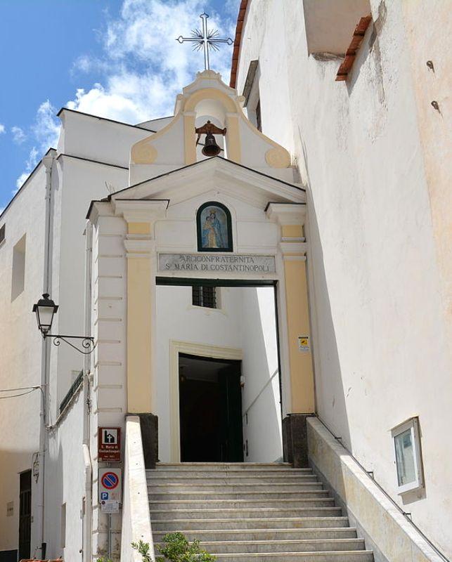 chiesa di s m di costantinopoli ischia