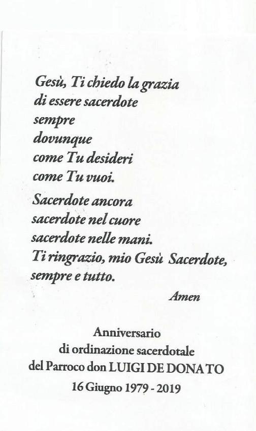 QUARANT'ANNI SACERDOZIO DON LUIGI DE DONATO0003